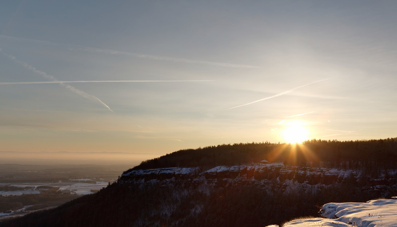 Winter Sunrise on the Escarpment