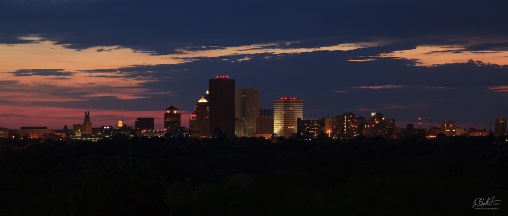 Rochester at Night