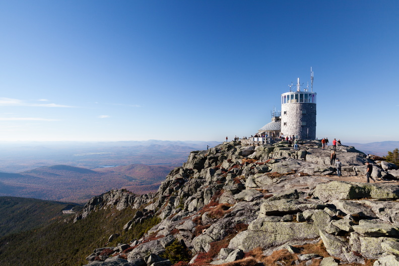At the Summit of Whiteface Mountain