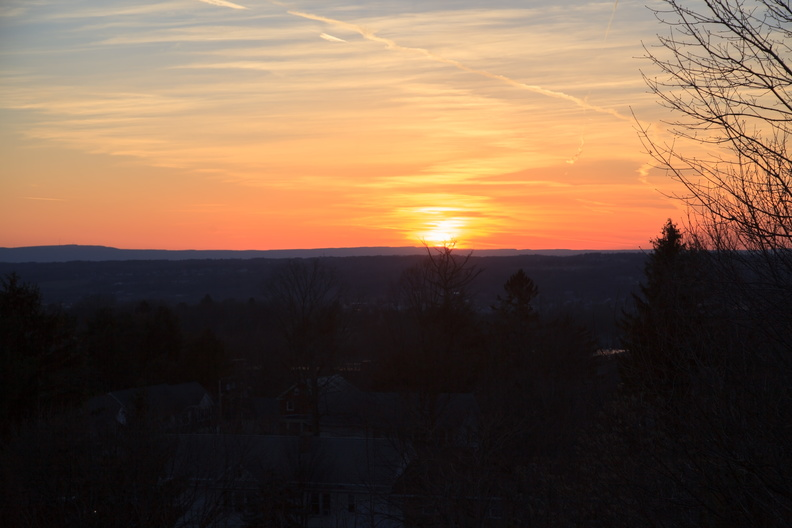 Hudson Valley Sunset