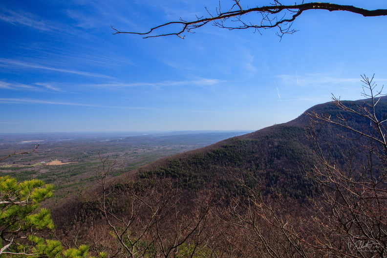 High Peak Mountain and the Hudson River Valley