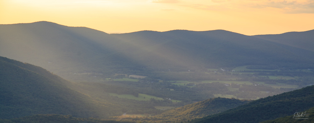 Sunset on the Berkshires