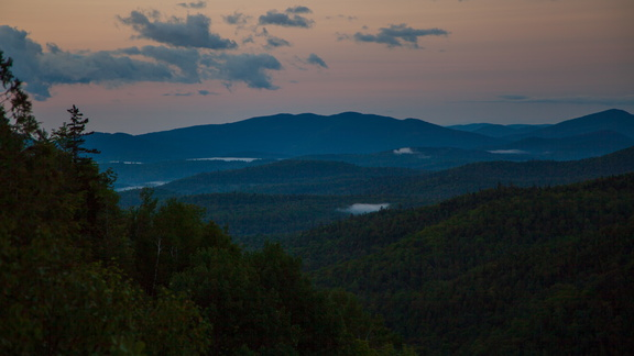 Dawn over Keene Valley